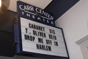 "T. Oliver Reid in ""Drop Me Off in Harlem"" at The Carr Center. November 7, 2015"
