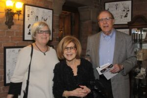 Mary Kramer, Lois and Mark Shaevsky